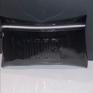 Dior black cosmetic case